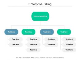 Enterprise Billing Ppt Powerpoint Presentation Pictures Visual Aids Cpb