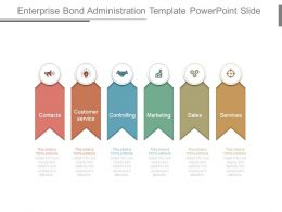 Enterprise Bond Administration Template Powerpoint Slide