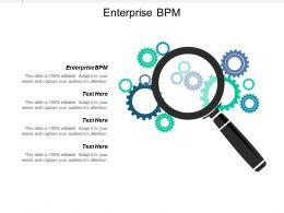 Enterprise Bpm Ppt Powerpoint Presentation Icon Gridlines Cpb