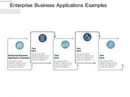 Enterprise Business Applications Examples Ppt Powerpoint Icon Picture Cpb