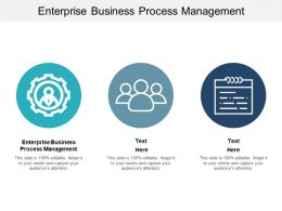 Enterprise Business Process Management Ppt Powerpoint Presentation Portfolio Cpb