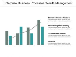 Enterprise Business Processes Wealth Management Planning Disaster Communication Cpb