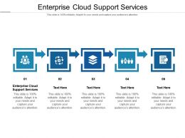 Enterprise Cloud Support Services Ppt Powerpoint Presentation Infographic Template Layout Ideas Cpb