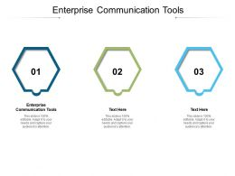 Enterprise Communication Tools Ppt Inspiration Backgrounds Cpb