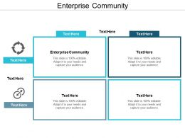 Enterprise Community Ppt Powerpoint Presentation File Graphic Tips Cpb