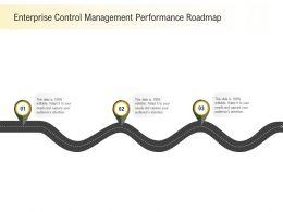 Enterprise Control Management Performance Roadmap M2280 Ppt Powerpoint Presentation Ideas