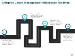 Enterprise Control Management Performance Roadmap Ppt Powerpoint Presentation