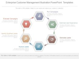 Enterprise Customer Management Illustration Powerpoint Templates
