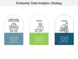 Enterprise Data Analytics Strategy Ppt Powerpoint Presentation Gallery Slide Portrait Cpb