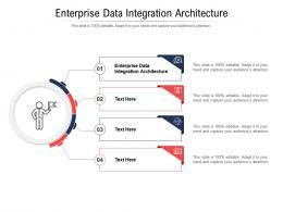 Enterprise Data Integration Architecture Ppt Powerpoint Presentation Visual Aids Professional Cpb