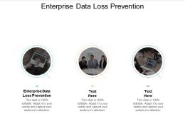 Enterprise Data Loss Prevention Ppt Powerpoint Presentation Portfolio Tips Cpb