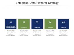 Enterprise Data Platform Strategy Ppt Powerpoint Presentation Layouts Guidelines Cpb