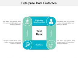 Enterprise Data Protection Ppt Powerpoint Presentation File Master Slide Cpb