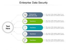 Enterprise Data Security Ppt Powerpoint Presentation Portfolio Ideas Cpb