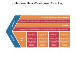 Enterprise Data Warehouse Consulting Ppt Powerpoint Presentation Outline Graphics Cpb