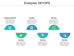 Enterprise DEVOPS Ppt Powerpoint Presentation Model Design Inspiration Cpb