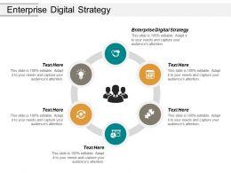 Enterprise Digital Strategy Ppt Powerpoint Presentation Infographics Template Cpb