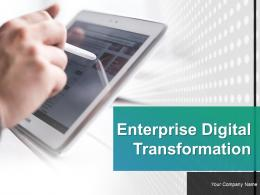 Enterprise Digital Transformation Powerpoint Presentation Slides