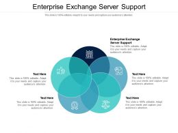 Enterprise Exchange Server Support Ppt Powerpoint Presentation Summary Aids Cpb
