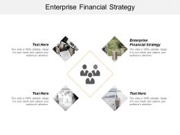 Enterprise Financial Strategy Ppt Powerpoint Presentation Layouts Influencers Cpb