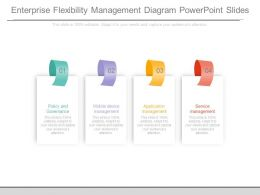Enterprise Flexibility Management Diagram Powerpoint Slides
