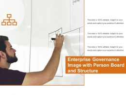 Enterprise Governance Image With Person Board And Structure