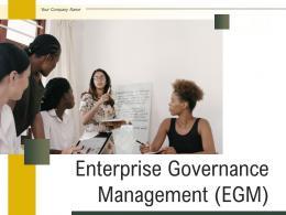 Enterprise Governance Management EGM Powerpoint Presentation Slides