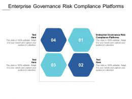 Enterprise Governance Risk Compliance Platforms Ppt Powerpoint Presentation File Cpb