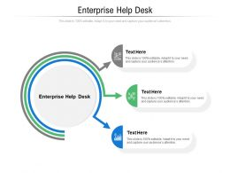 Enterprise Help Desk Ppt Powerpoint Presentation Portfolio Design Ideas Cpb