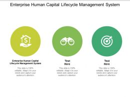 Enterprise Human Capital Lifecycle Management System Ppt Powerpoint Presentation Outline Show Cpb