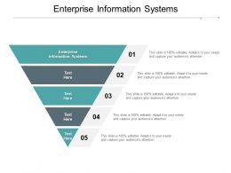 Enterprise Information Systems Ppt Powerpoint Presentation Layouts Objects Cpb