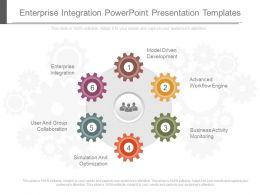 14298574 Style Circular Loop 6 Piece Powerpoint Presentation Diagram Infographic Slide