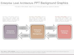 Enterprise Level Architecture Ppt Background Graphics