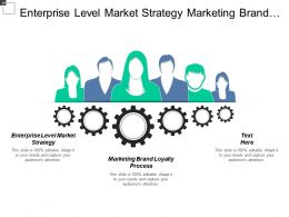 Enterprise Level Market Strategy Marketing Brand Loyalty Process Cpb