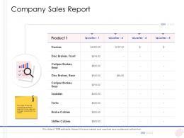 Enterprise Management Company Sales Report Ppt Themes