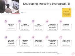 Enterprise Management Developing Marketing Strategies Ppt Slides