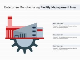 Enterprise Manufacturing Facility Management Icon