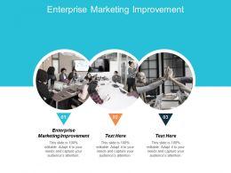 Enterprise Marketing Improvement Ppt Powerpoint Presentation Infographic Template Rules Cpb