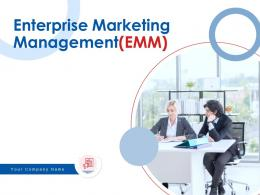 Enterprise Marketing Management EMM Powerpoint Presentation Slides