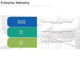 Enterprise Marketing Ppt Powerpoint Presentation Gallery Elements Cpb
