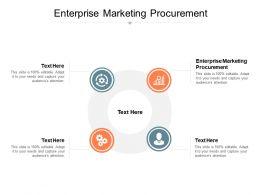 Enterprise Marketing Procurement Ppt Powerpoint Presentation Infographics Inspiration Cpb