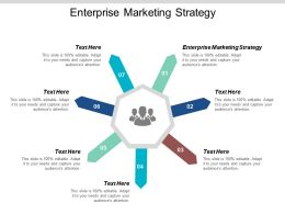 Enterprise Marketing Strategy Ppt Powerpoint Presentation Gallery Icon Cpb