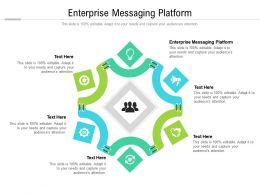 Enterprise Messaging Platform Ppt Powerpoint Presentation Slides Grid Cpb