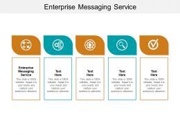 Enterprise Messaging Service Ppt Powerpoint Presentation Portfolio Background Image Cpb