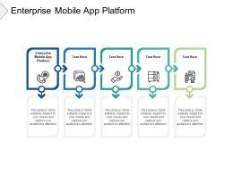 Enterprise Mobile App Platform Ppt Powerpoint Presentation Outline Cpb