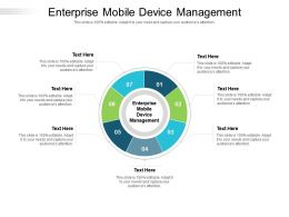 Enterprise Mobile Device Management Ppt Powerpoint Presentation Summary Cpb