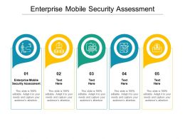 Enterprise Mobile Security Assessment Ppt Powerpoint Presentation Icon Example Introduction Cpb