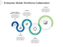 Enterprise Mobile Workforce Collaboration Ppt Powerpoint Sample Cpb