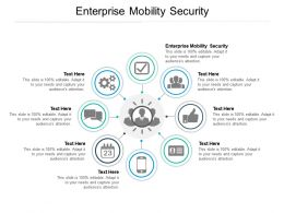 Enterprise Mobility Security Ppt Powerpoint Presentation Backgrounds Cpb