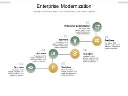 Enterprise Modernization Ppt Powerpoint Presentation Portfolio Layouts Cpb
